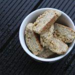 Biscotti med citron, cashewnødder og vanilje 3