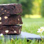 Glutenfri brownie med sorte bønner