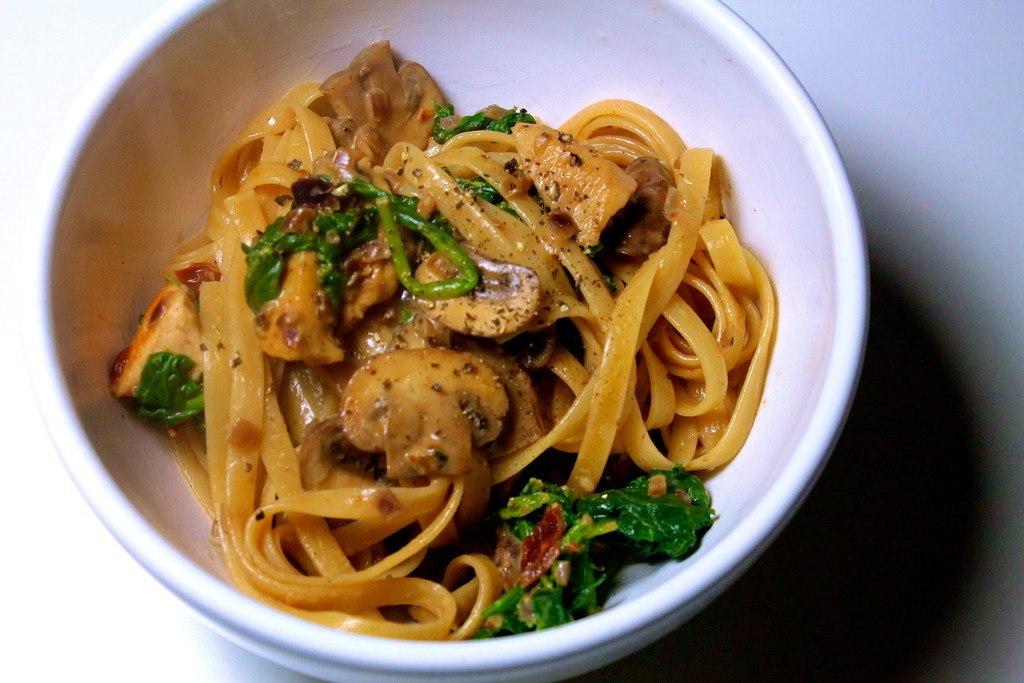 Cremet pasta med kylling, svampe og soltørrede tomater photo IMG_6786_zpswqnz6sbh.jpg