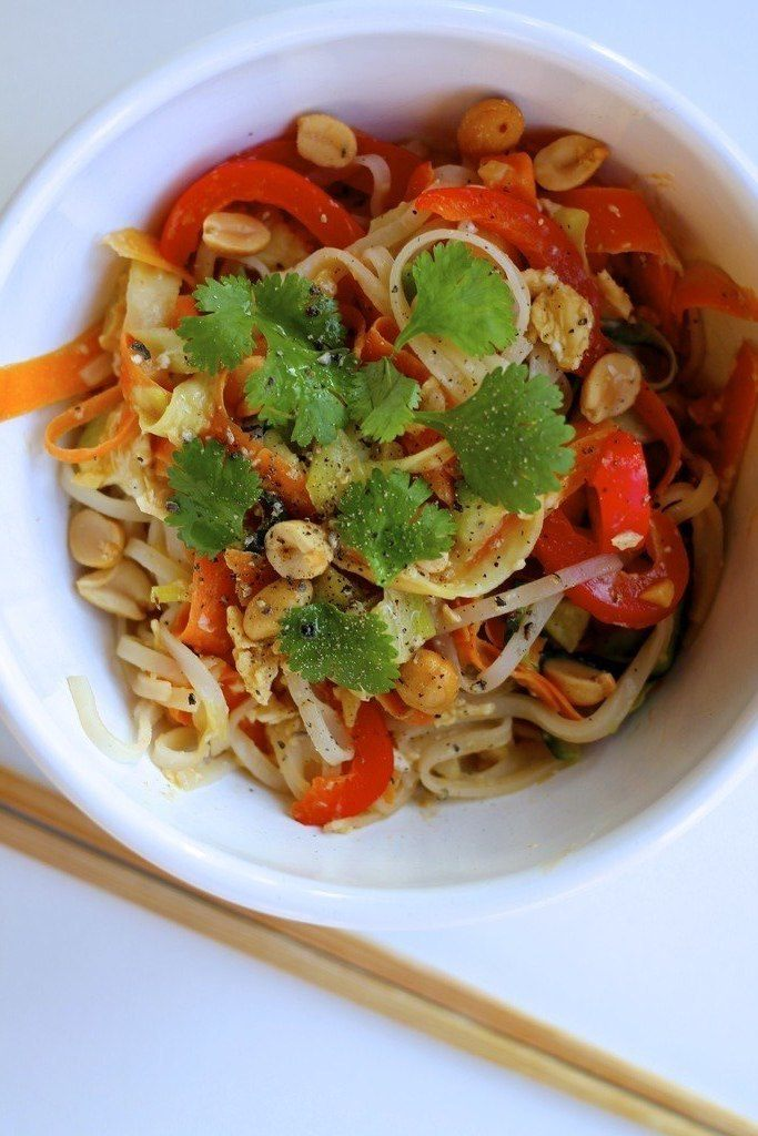 Vegetarisk pad thai
