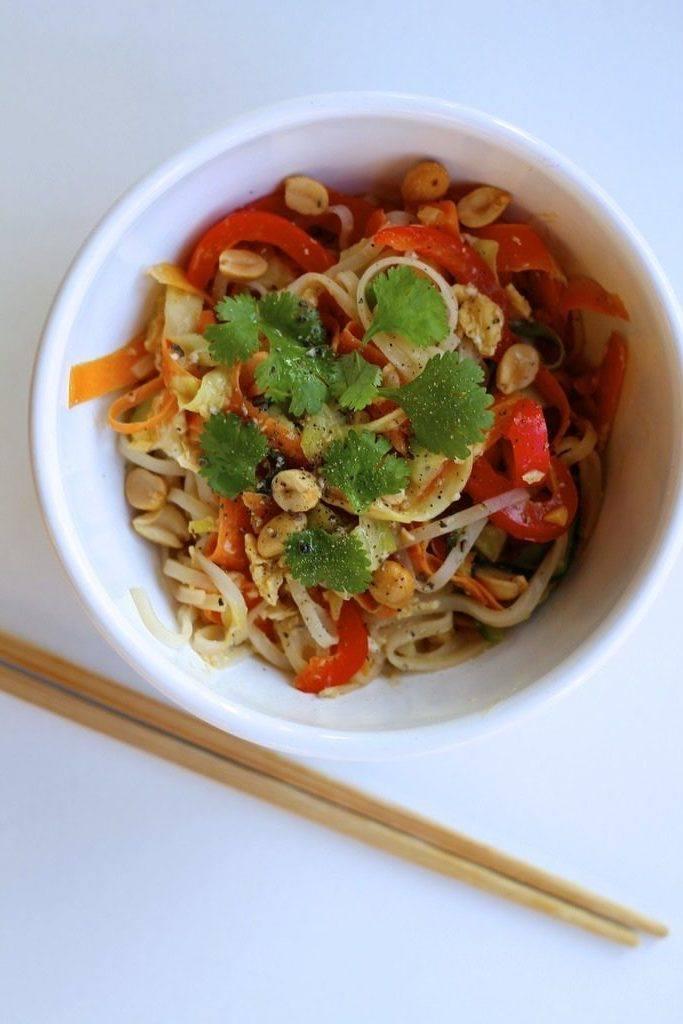 Vegetarisk pad thai