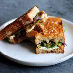 Vegetar toast med ost