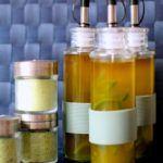 Hjemmelavet krydderolie og kryddersalt