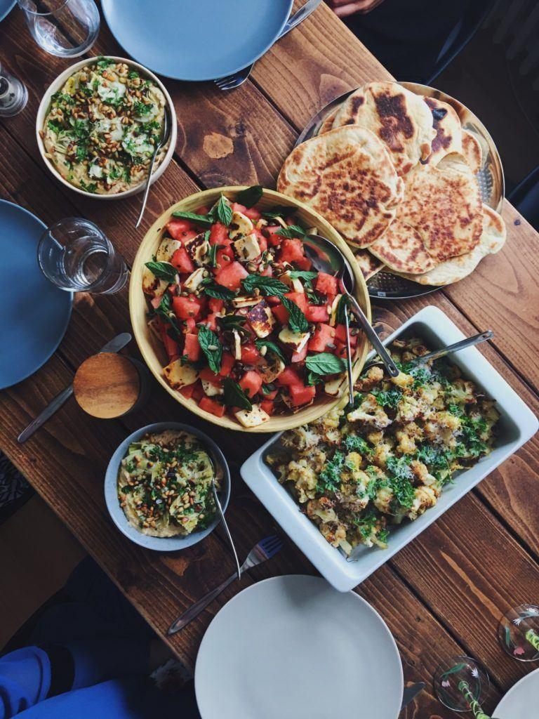 Mellemøstlig menu