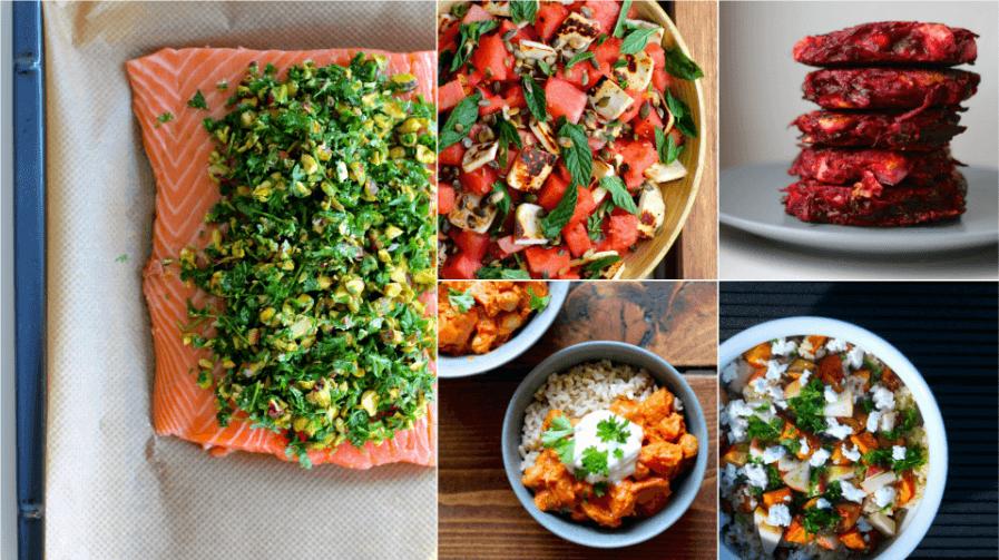 Bæredygtig madplan: Aftensmad med råvarer i sæson