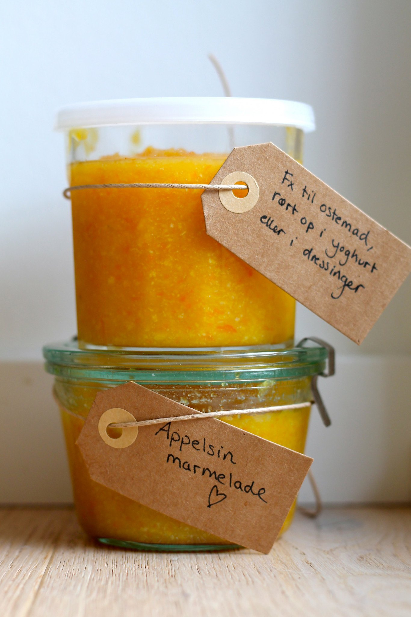 hjemmelavede appelsinmarmelade