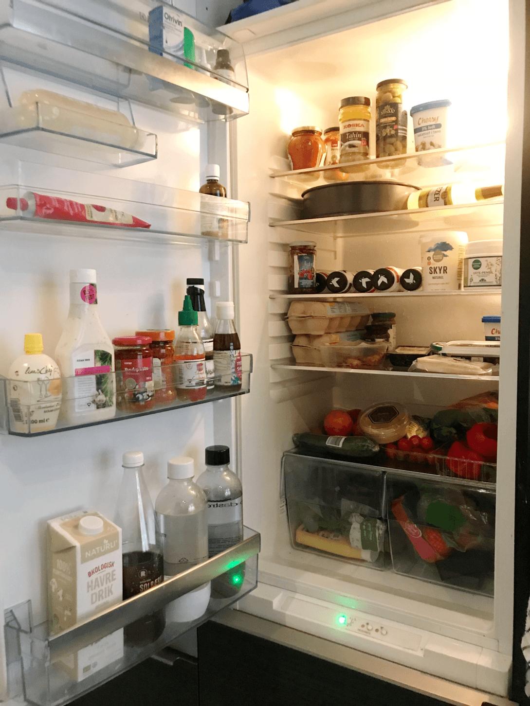 Vis mig dit køleskab: Nina på SU 2