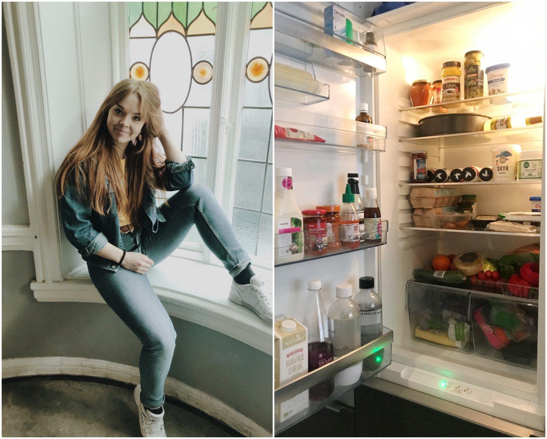 Vis mig dit køleskab: Nina på SU
