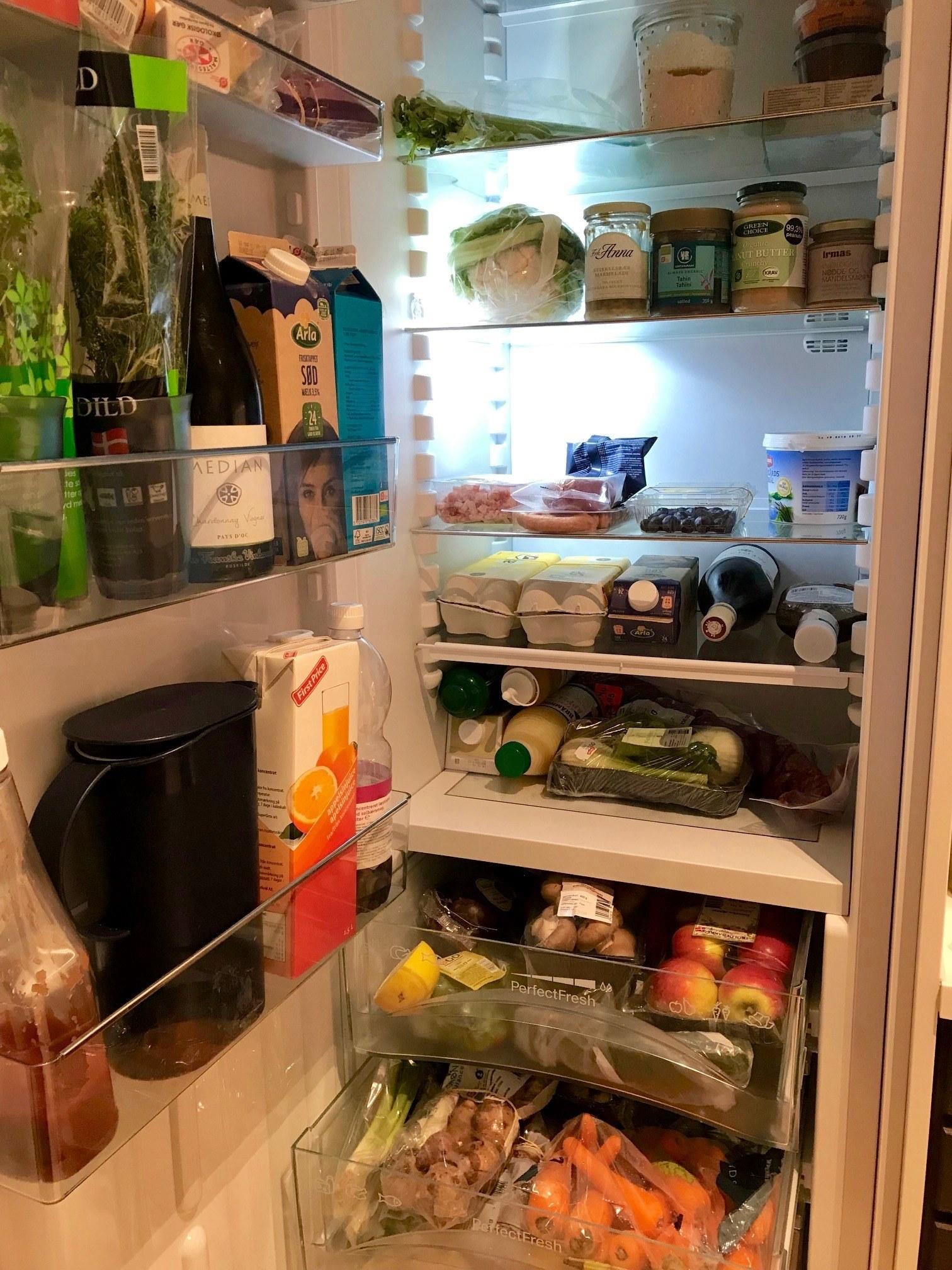 Vis mig dit køleskab: Henriette - familiemor og kvalitetsbevidst 3
