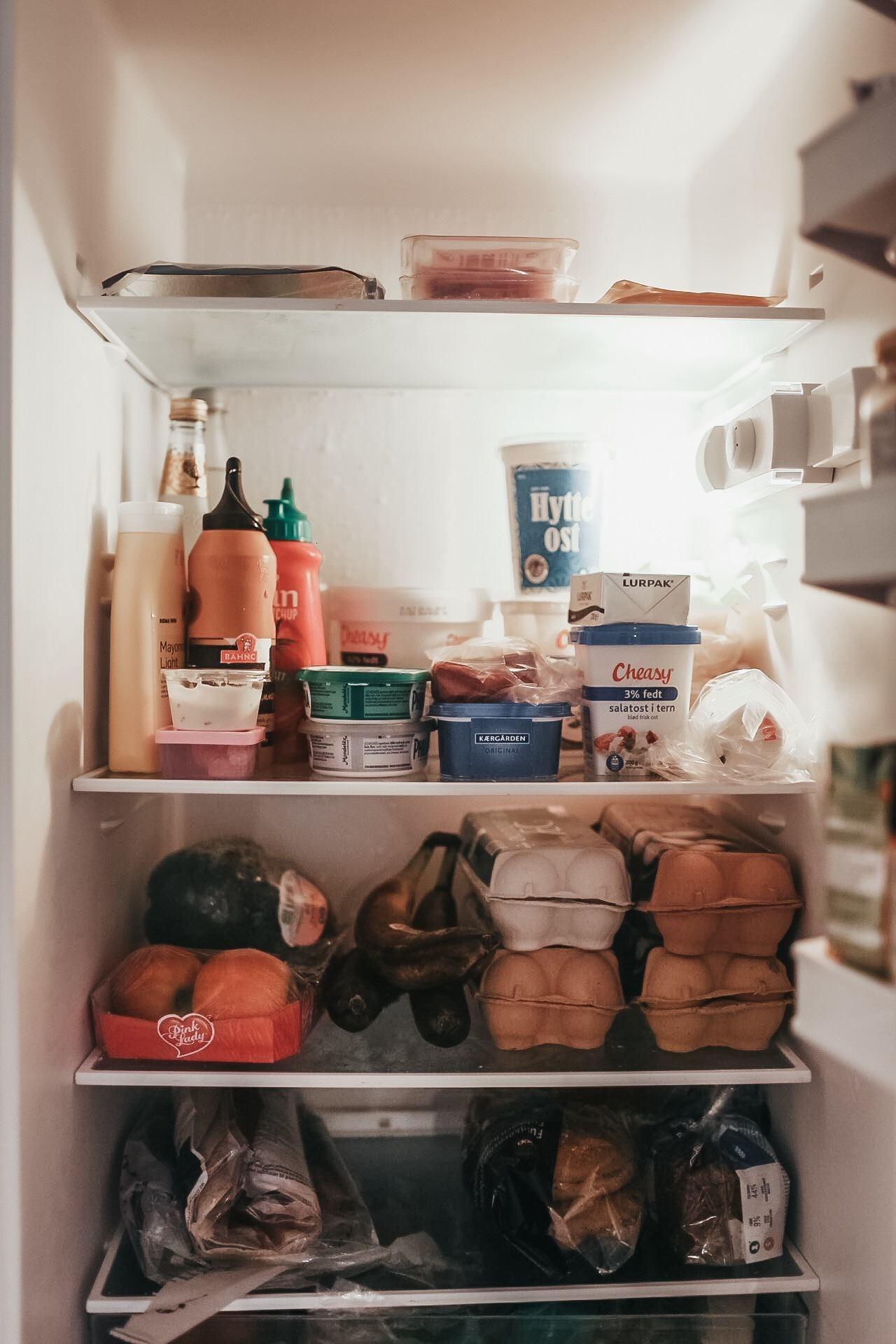Vis mig dit køleskab: Cecilie Lykke - madblogger, nybagt mor og nordmand 2