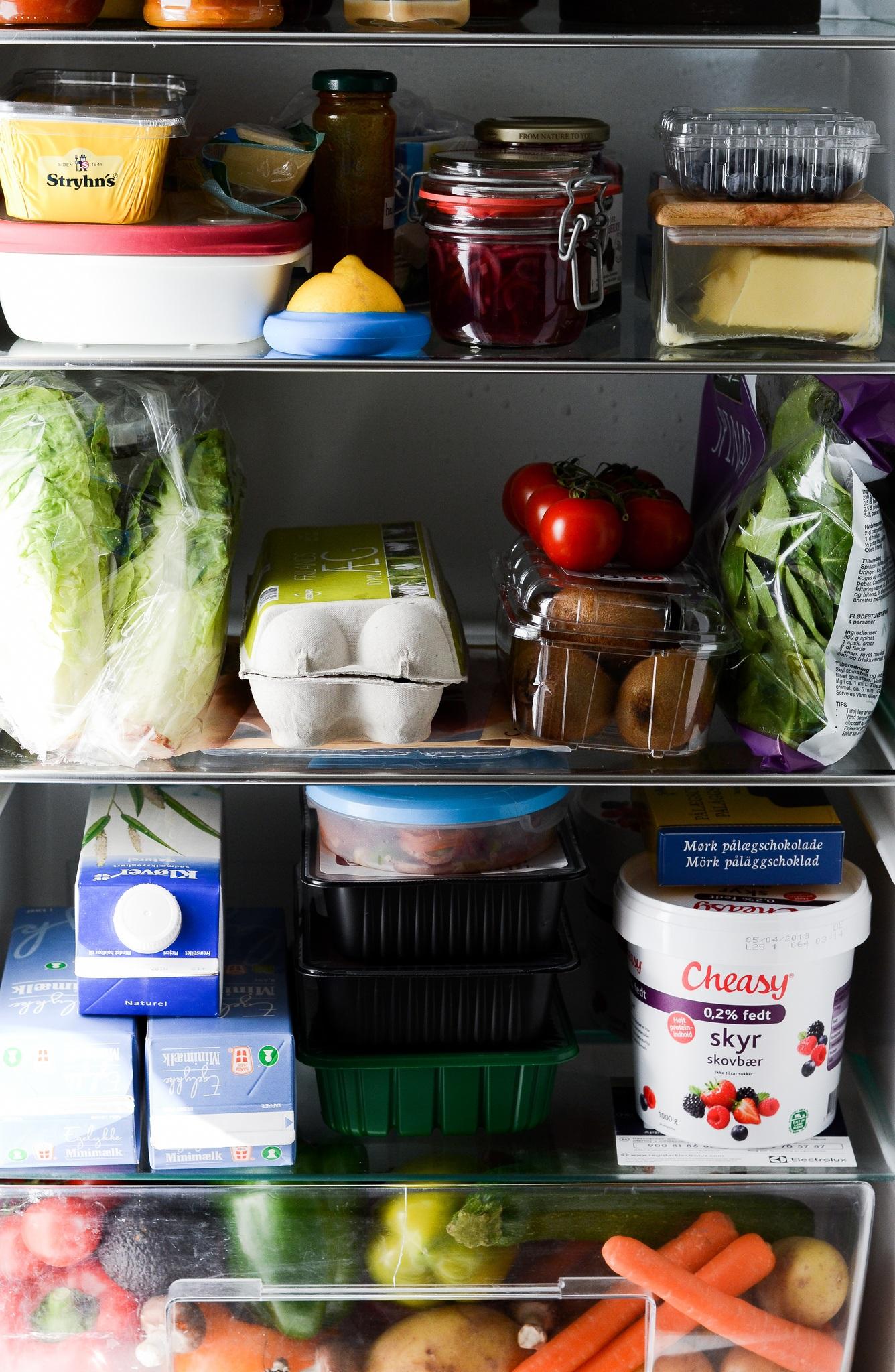 Vis mig dit køleskab: Anna - grødgris og madblogger på SU 2
