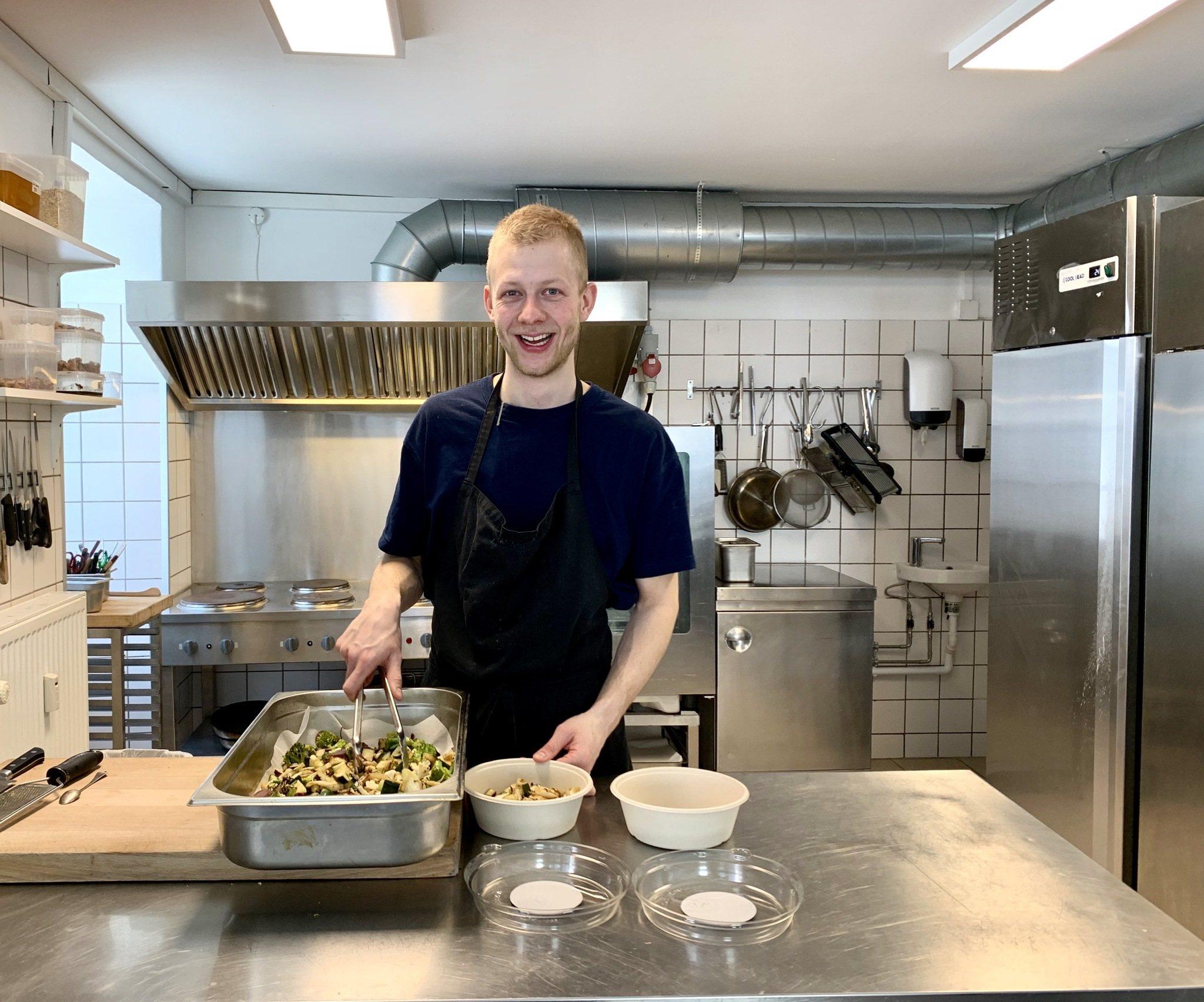 Vis mig dit køleskab: Olivier - selvlært kok, bæredygtighed og stop madspild 5