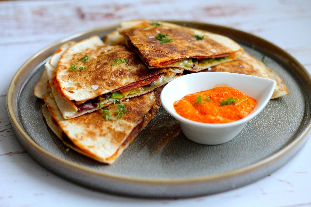 Mexicanske quesadillas