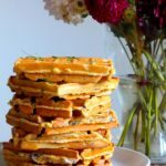 Grove madvafler med kål