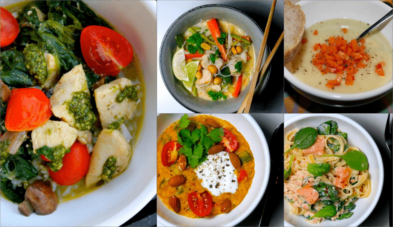 Nem hverdagsmad - madplan