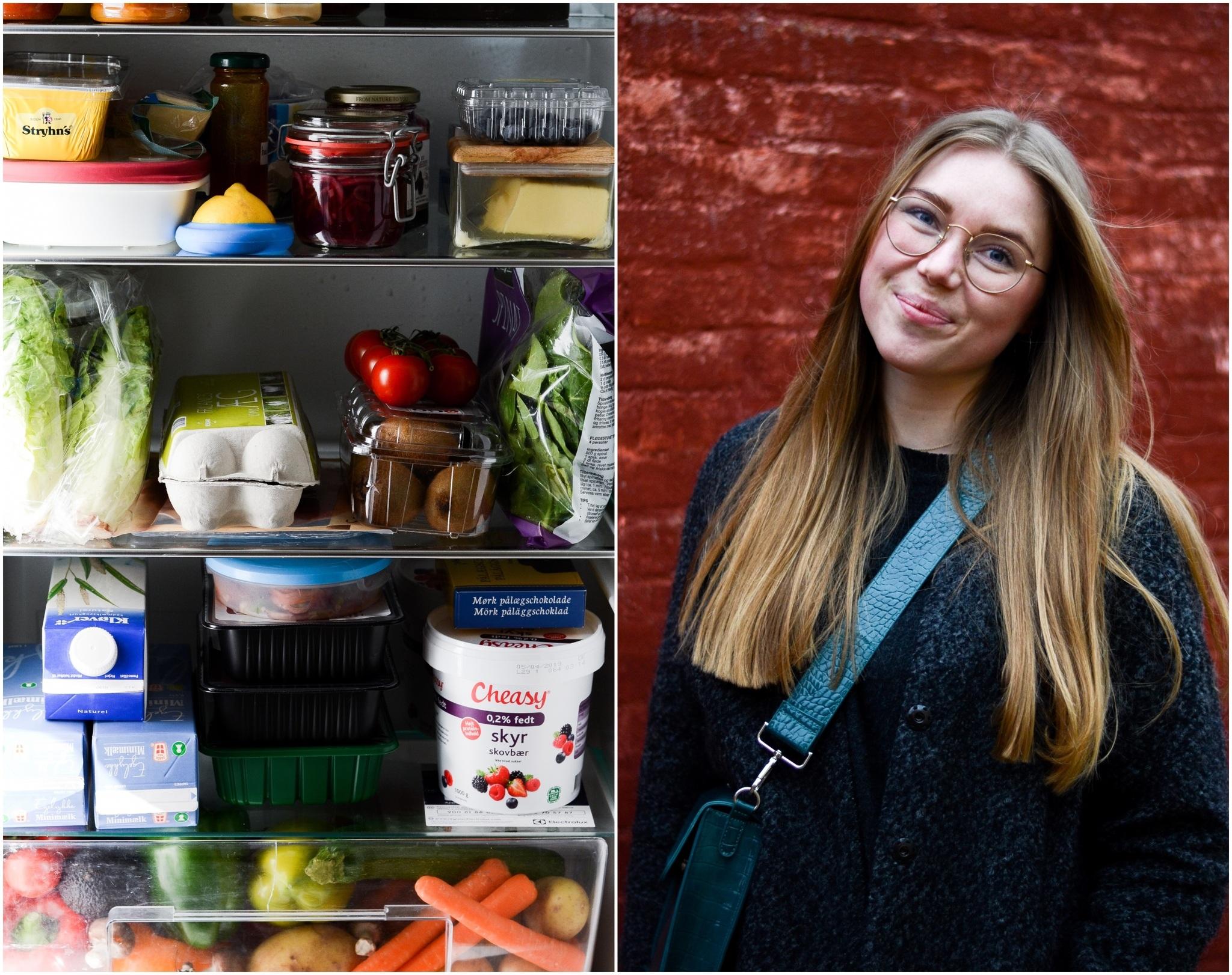 Vis mig dit køleskab: Anna - grødgris og madblogger på SU