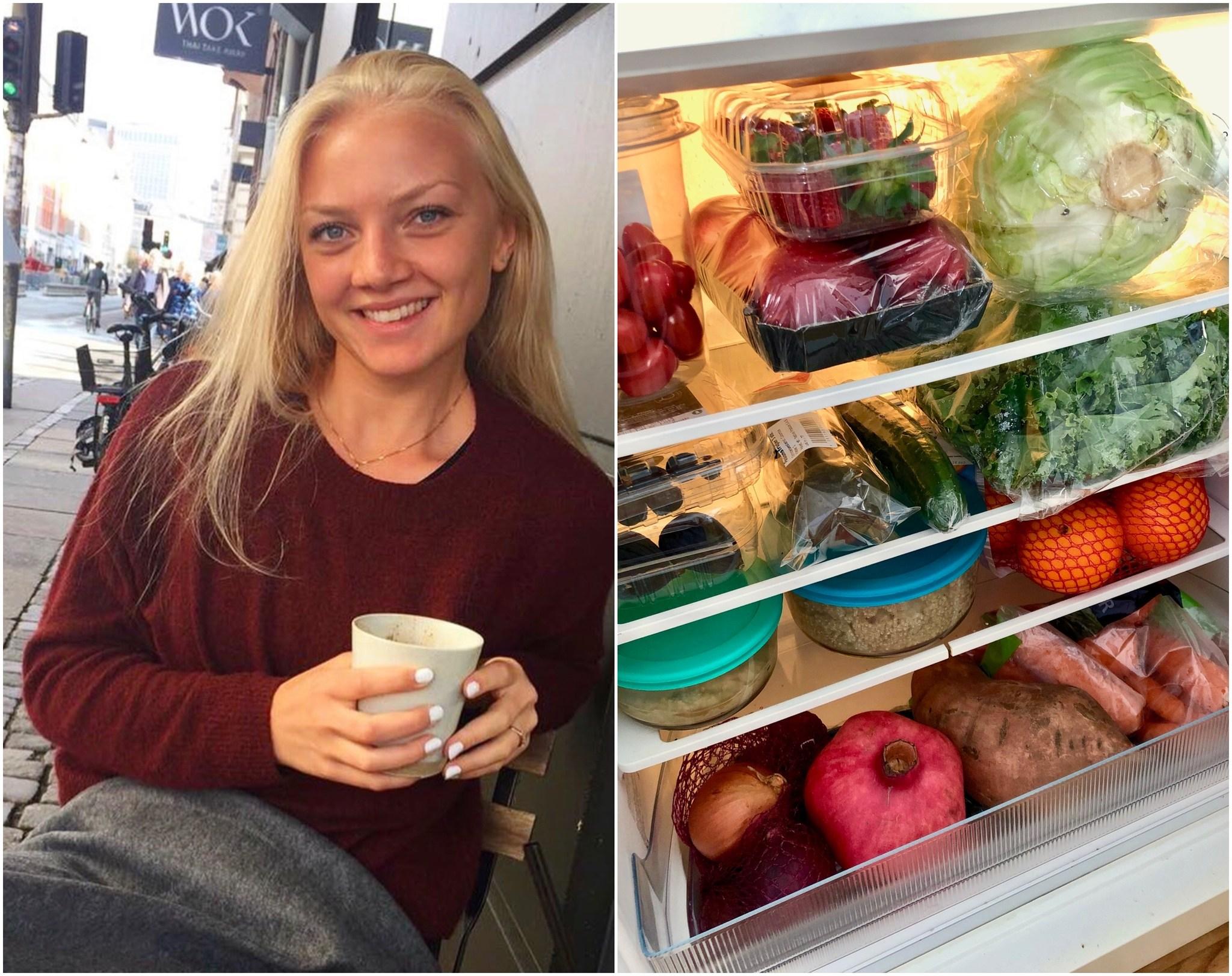 Vis mig dit køleskab: Helena Eiken - veganer på SU