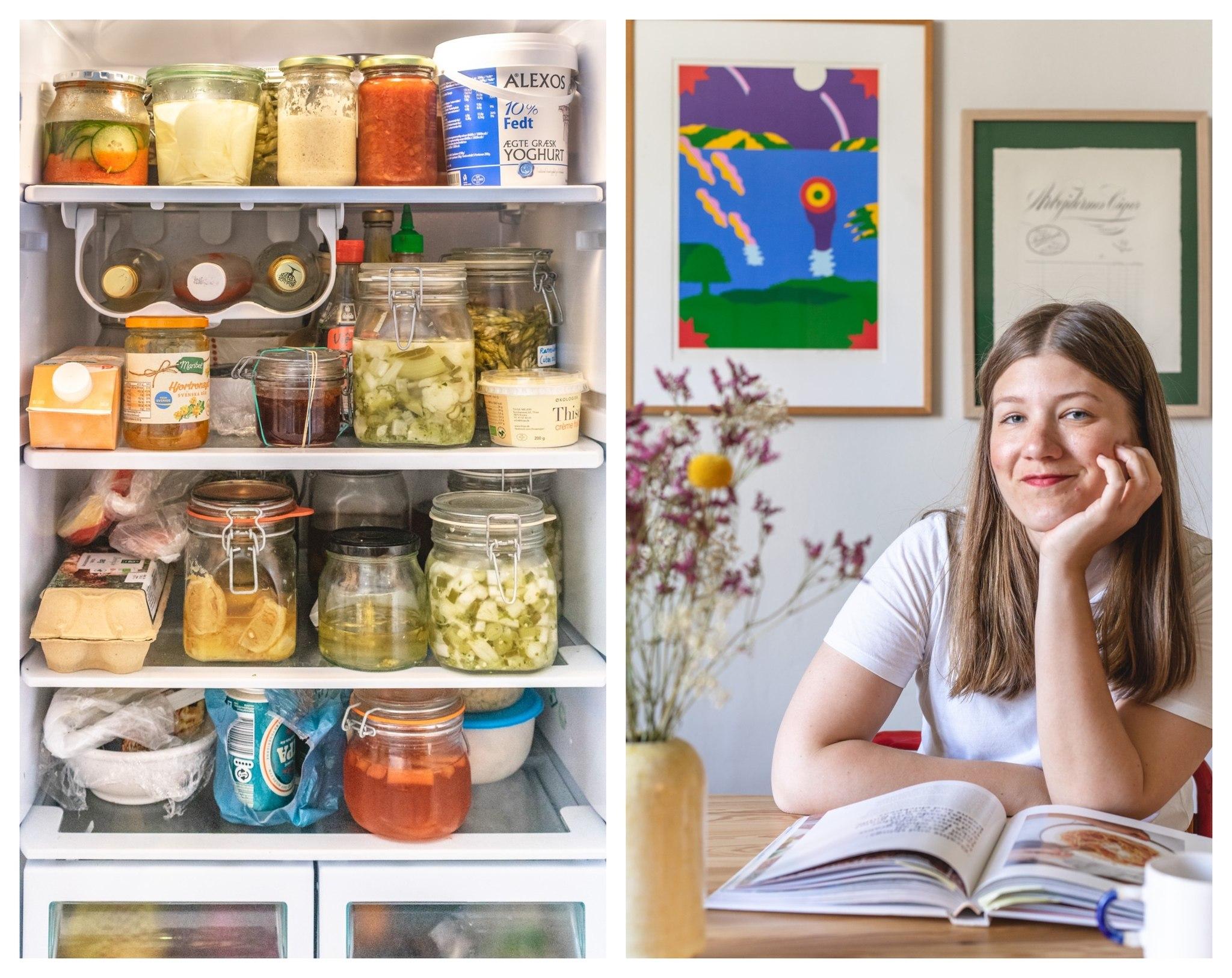 Vis mig dit køleskab: Camilla - vegetarisk hverdag og inspiration