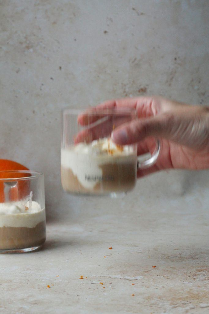 Affogato - nem dessert med is og kaffe