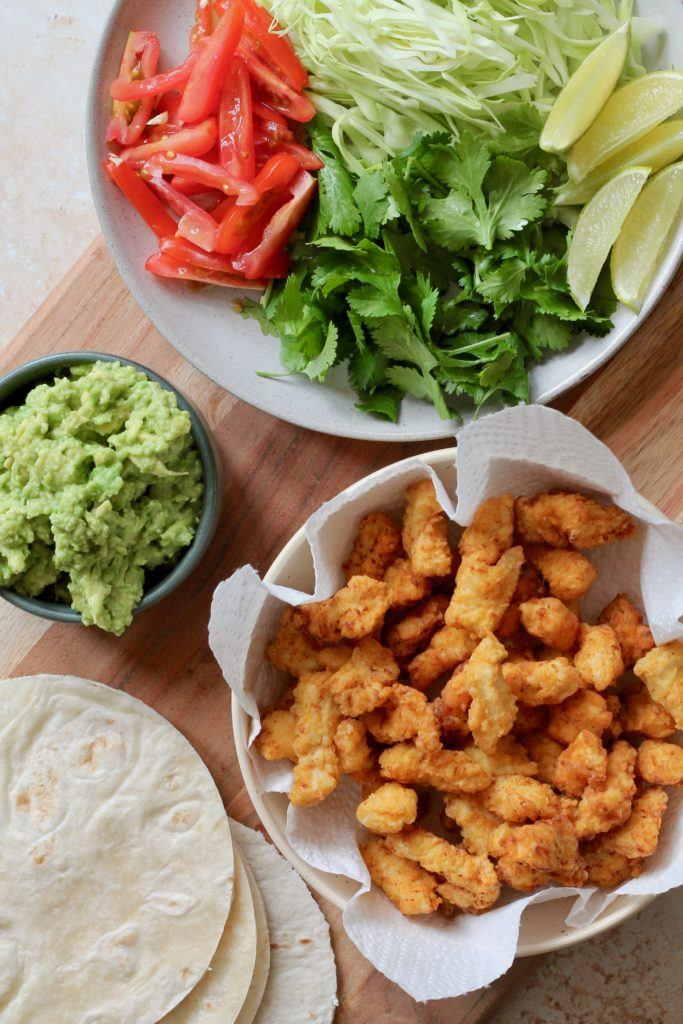 Tacos med kylling
